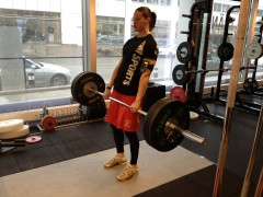 Fun with deadlifts!
